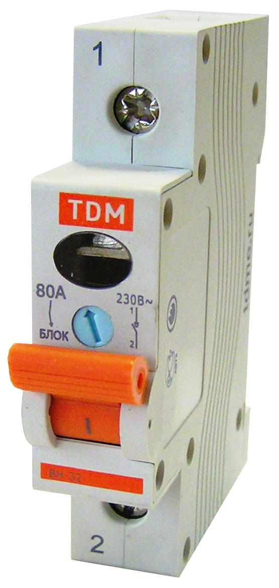 Выключатель нагрузки (мини-рубильник) ВН-32 1P