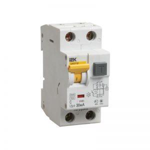 Дифференциальный автомат АД 2P (1P+N)