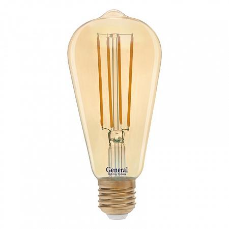 GLDEN-ST64S-DEM-13-230-E27-2700 Золотая