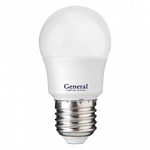 Светодиодная лампа GLDEN-G45F-7-230-E27