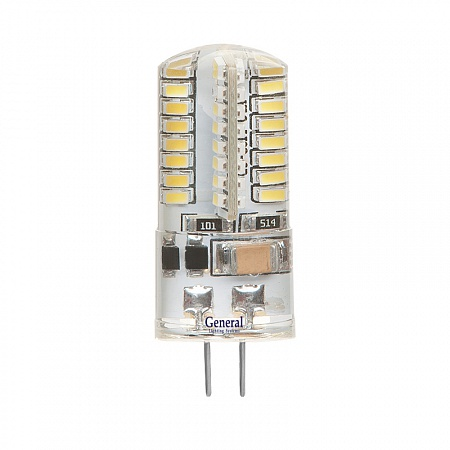 Светодиодная лампа G4 12 Вольт, Силикон
