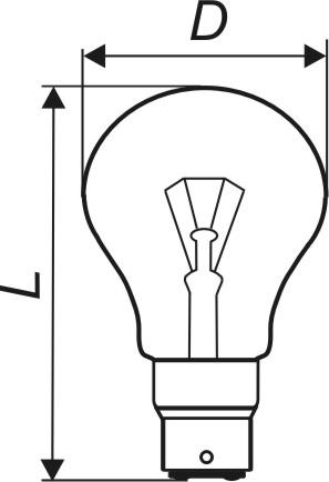Лампа накаливания общего назначения